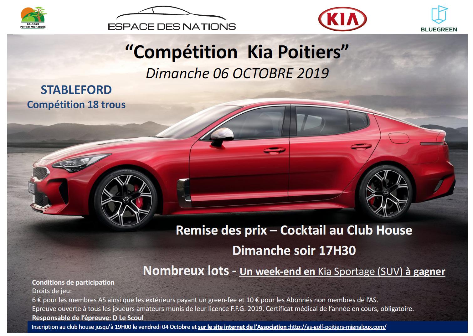 Compétition KIA Poitiers
